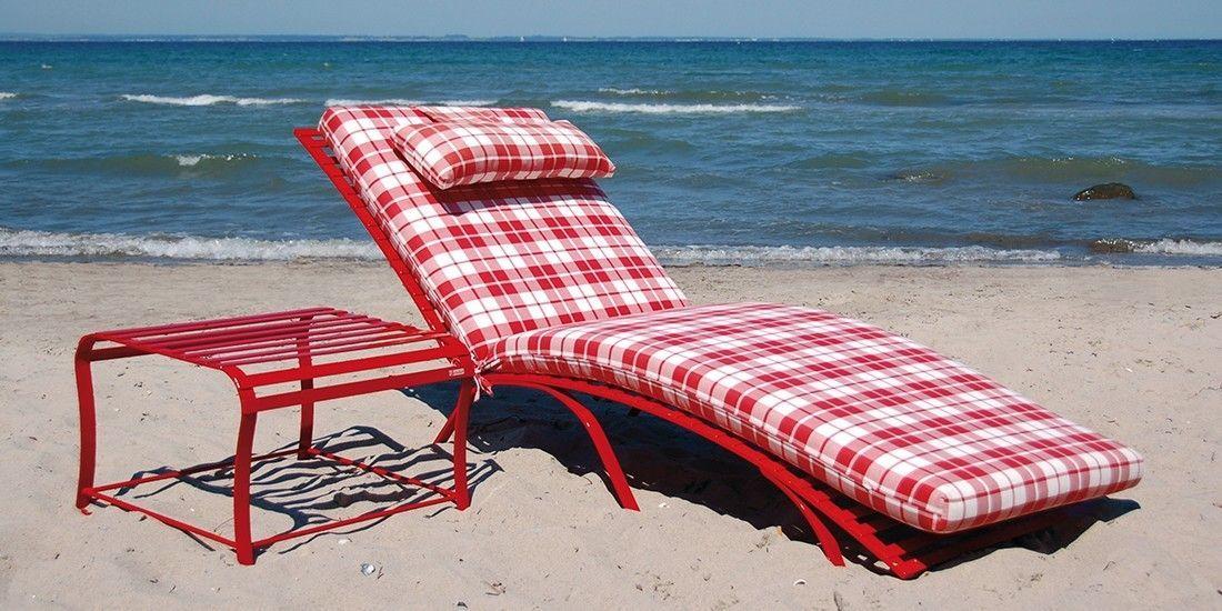 hochwertige edelstahl sonnenliege toulouse la sedia home gardenstyle. Black Bedroom Furniture Sets. Home Design Ideas